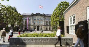 Noord Brabants Museum ,Bosch, Gevel van het Noordbrabants Museum, Noordbrabants museum, Noordbrabantsmuseum, museumtv,